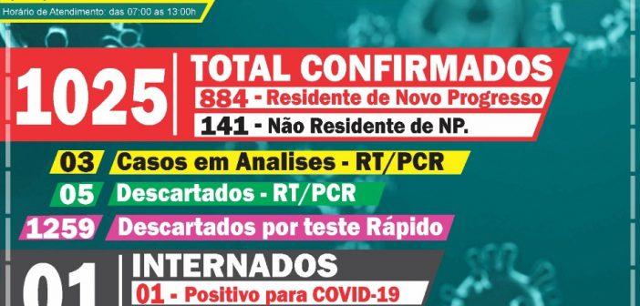Boletim Informativo Covid-19 dia 26/09/2020
