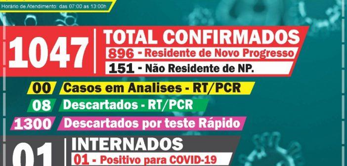 Boletim Informativo Covid-19 dia 30/11/2020