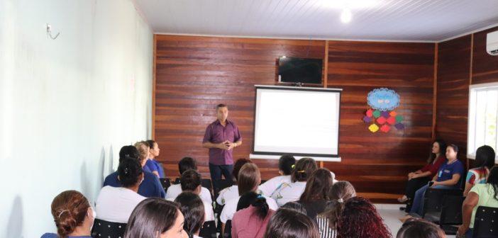 Dia Nacional dos Agentes Comunitários de Saúde é comemorado com café da manhã e palestras.